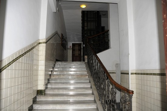 stairs leading to the entrance