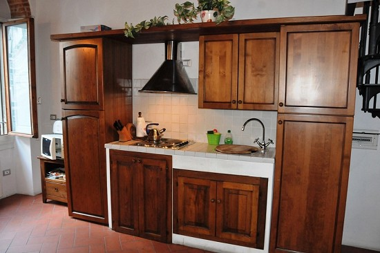 The kitchenette, fully equipped