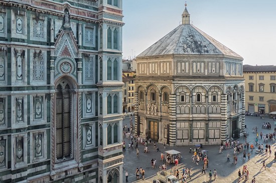 splendid view of the Duomo from the window